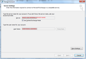 Outlook Config